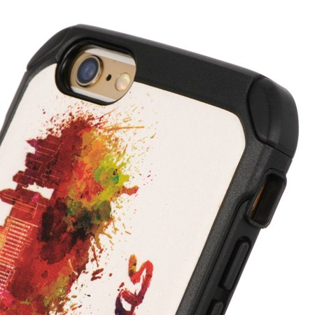 Insten Hard Hybrid TPU Cover Case For Apple iPhone 6 / 6s - Colorful - image 5 of 6