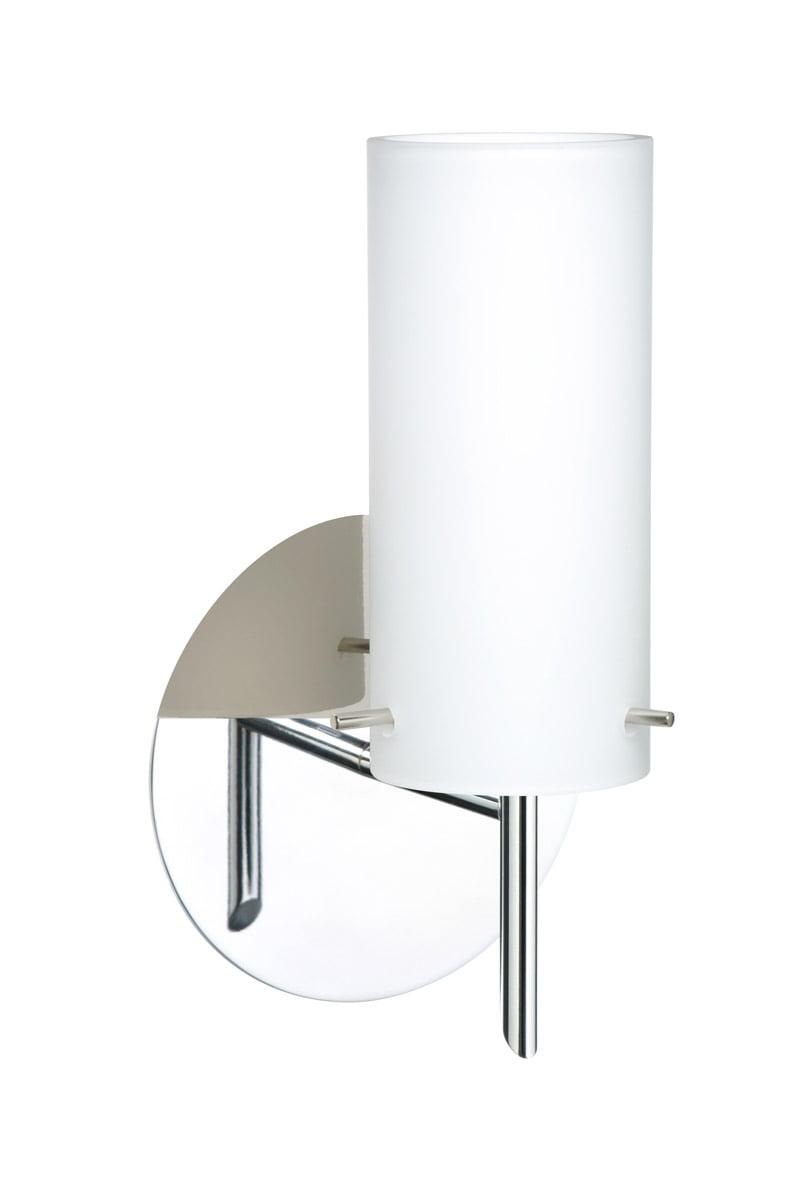 Besa Lighting 1SW-440307-LED-CR Copa LED 5 inch Chrome Mini Sconce Wall Light by Besa Lighting