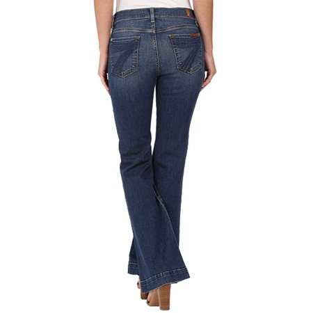 7 For All Mankind Womens Petite Size Dojo in Medium Melrose 7 For All Mankind Petite