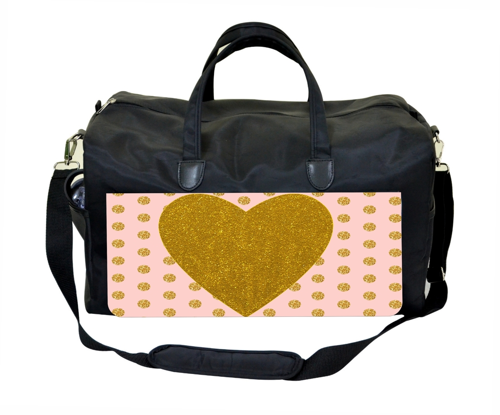 Heart Dots Pattern Therapist Bag