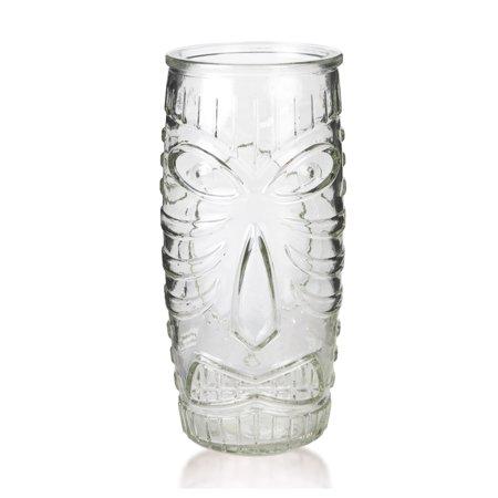 Libbey Glass Tiki Mug - Tall Tumbler - 20 oz (Tall Glass Tumbler)