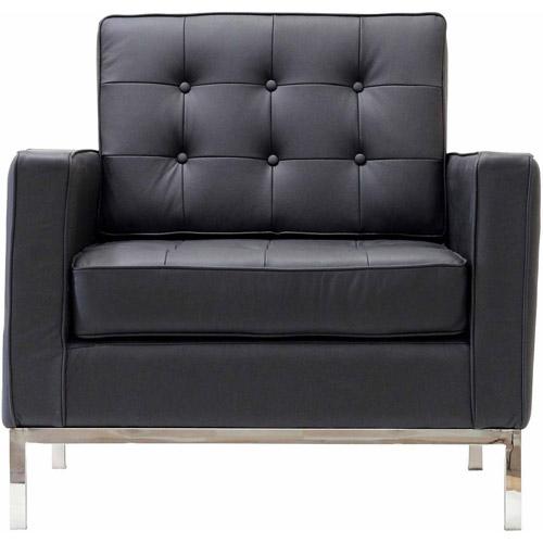 Modway Loft Leather Armchair, Multiple Colors