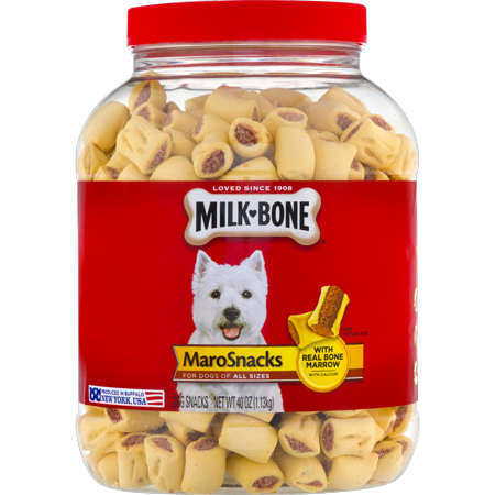 - Milk-Bone MaroSnacks Dog Snacks, Small, 40-Ounce