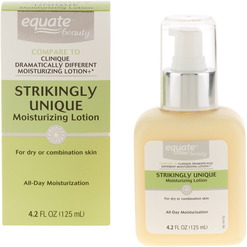 Equate Beauty Strikingly Unique Moisturizing Lotion, 4.2 fl oz