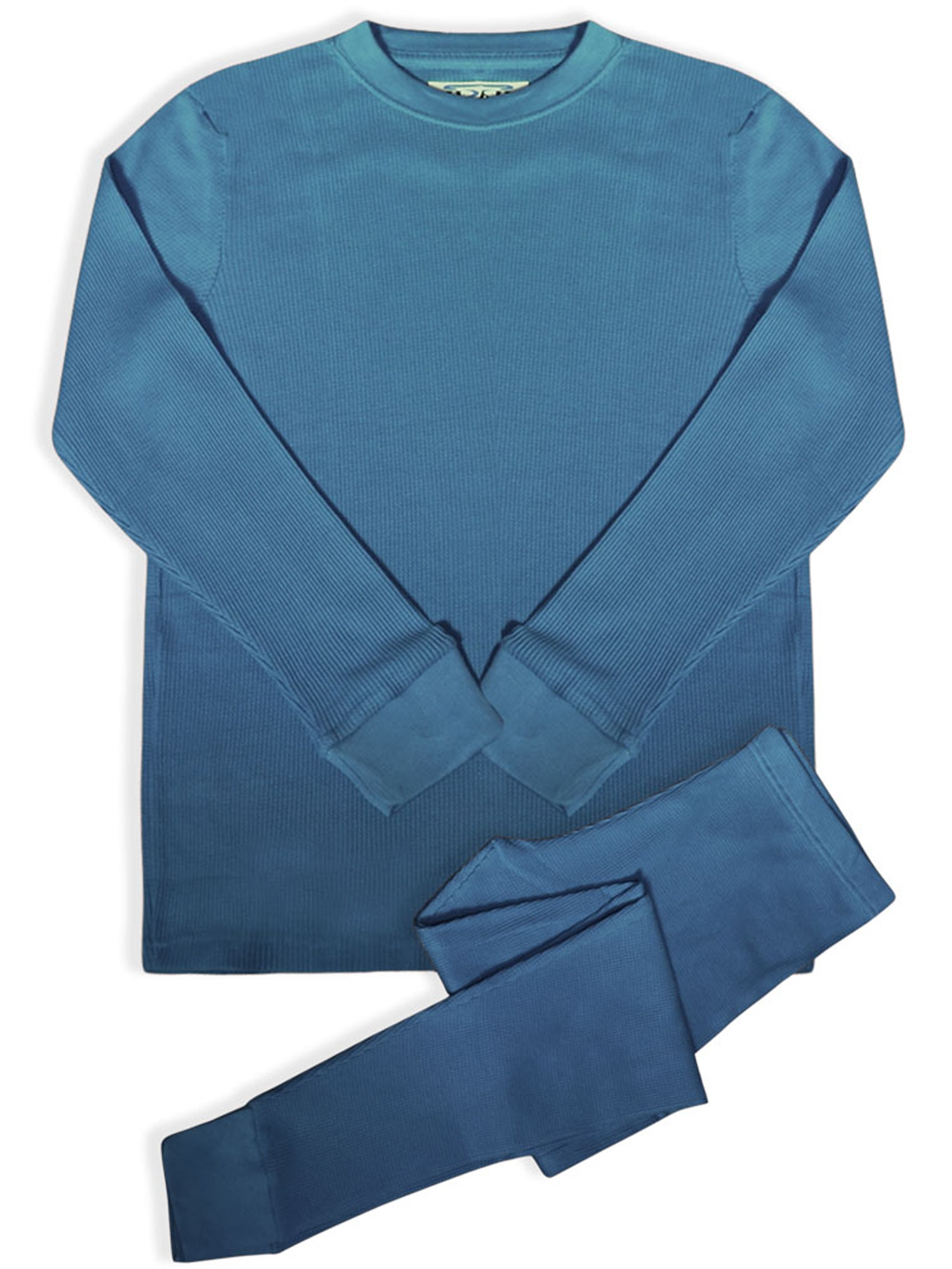 BASICO Women's 2pc Long John Thermal Underwear Set 100% Cotton(Single)