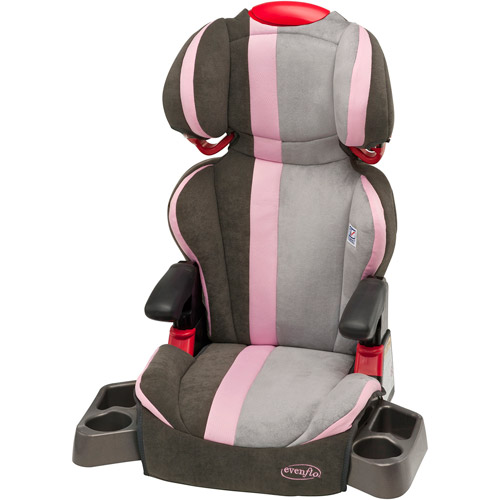 Evenflo Big Kid DLX High Back Booster Car Seat, Alexa