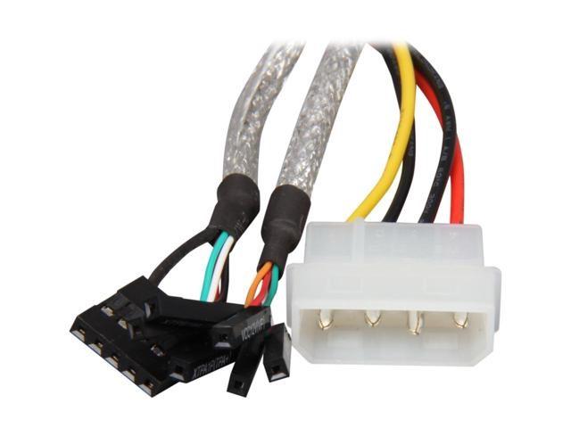 "Bytecc UFE-421 Bytecc 3.5/"" USB3.0//Firewire 400//POWER e-SATA Combo Internal HUB"