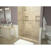 "Tile Redi WF3060L-PVC-2.5 Tileable Drain Wonderfall Trench 30"" X 60"" Rectangular Shower"