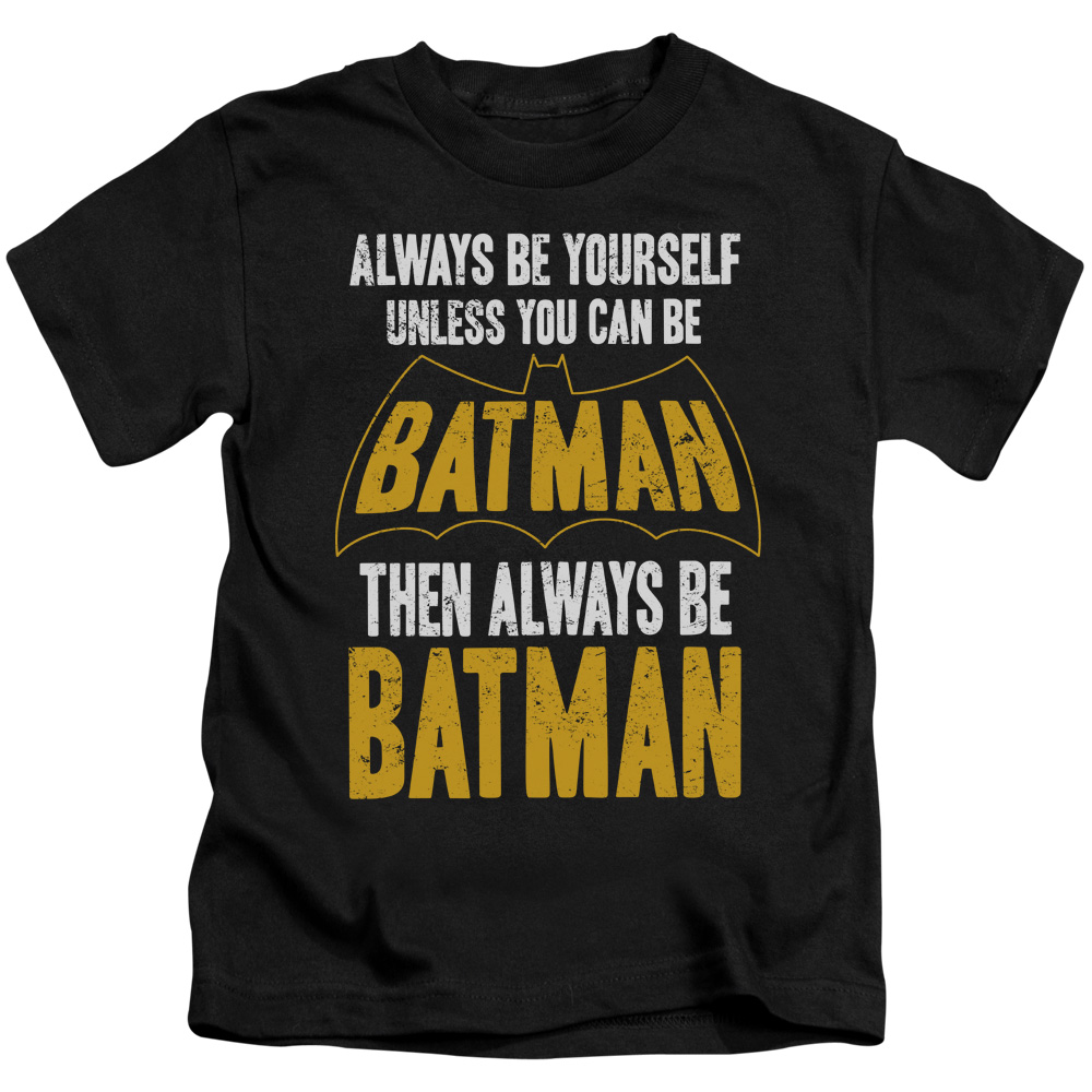 Batman Be Batman Little Boys Shirt