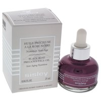 Black Rose Precious Face Oil Anti-Aging Nutrition by Sisley for Unisex - 0.84 oz Oil