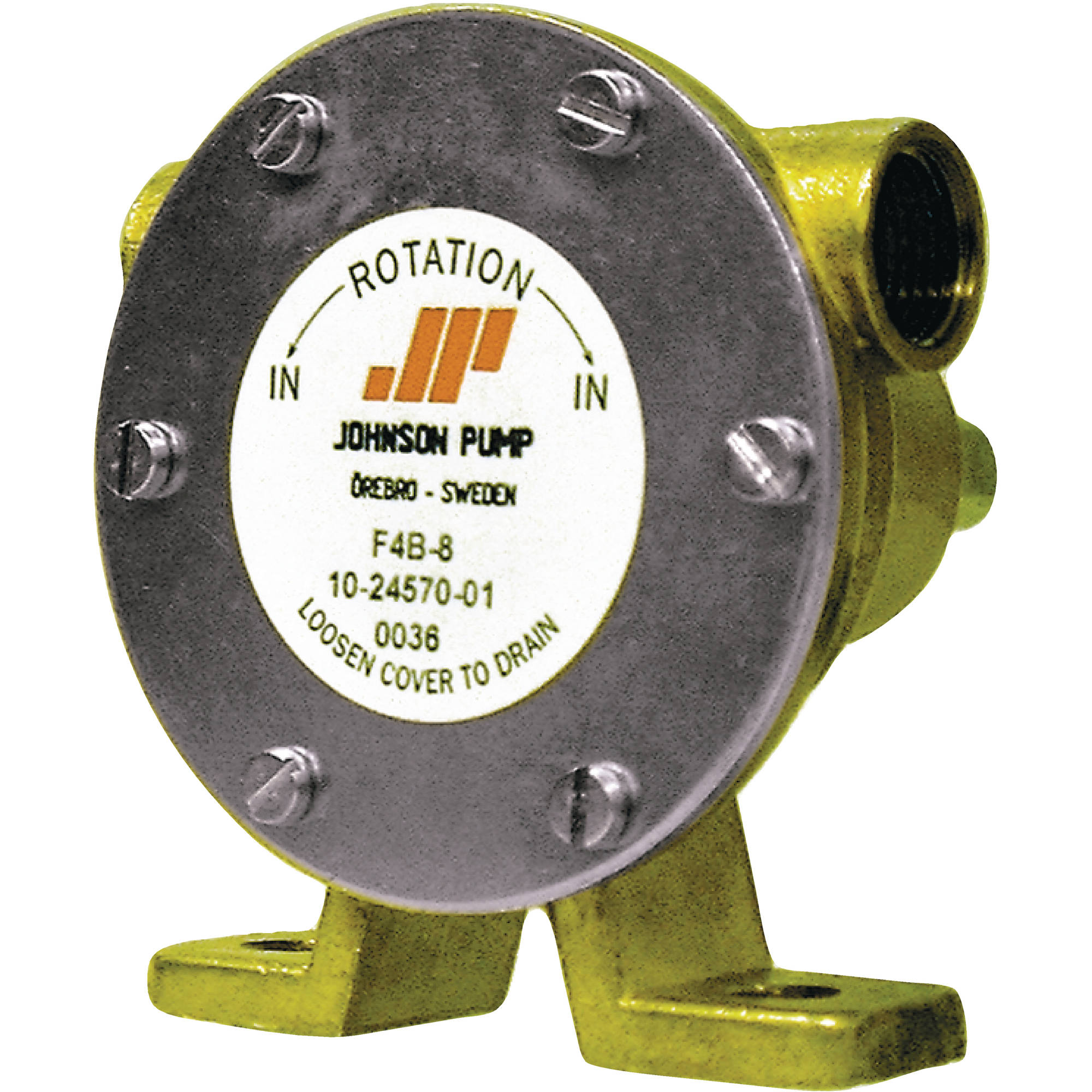 "Johnson Pump F4B-8 Heavy Duty Impeller Pump 3/8"" NPT"