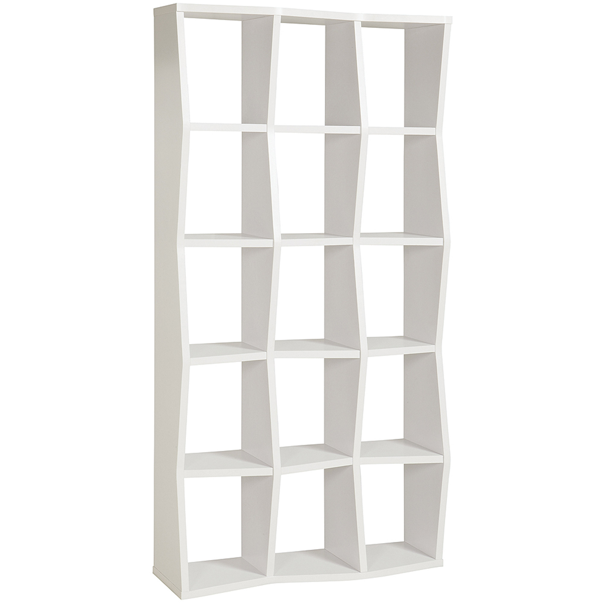 Coaster Backless Bookcase, White by Coaster Company