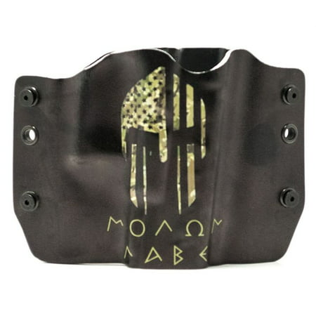 Outlaw Holsters: Molan Labe Camo OWB Kydex Gun Holster for Walther PPS, Right