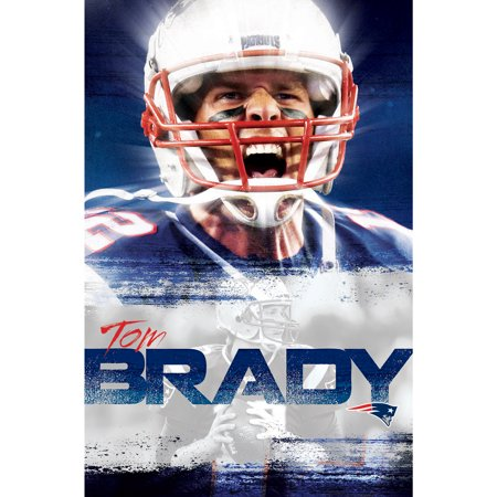 Tom Brady New England Patriots 22'' x 34'' Player Poster - No Size - England Team Poster
