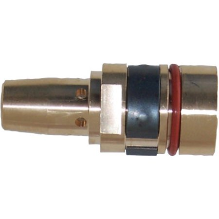 Gas Diffusers, Retaining Head, Brass, for Tregaskiss Style Mig (Best Screw Gun For Fencing)