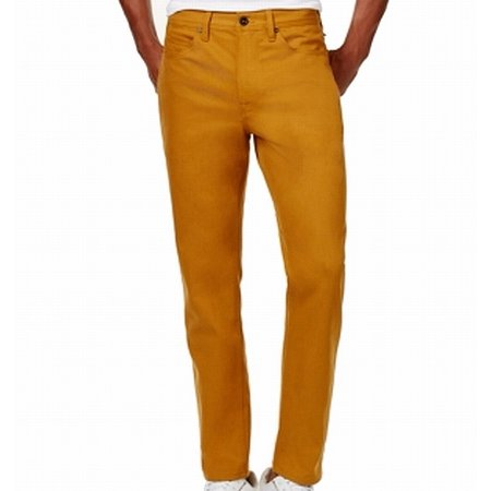 Sean John NEW Inca Gold Mens 38X32 Athlete Tapered Stretch Jeans (Sean John Jeans)