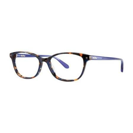 (LILLY PULITZER Eyeglasses BRYNN Lapis Tortoise 49MM)
