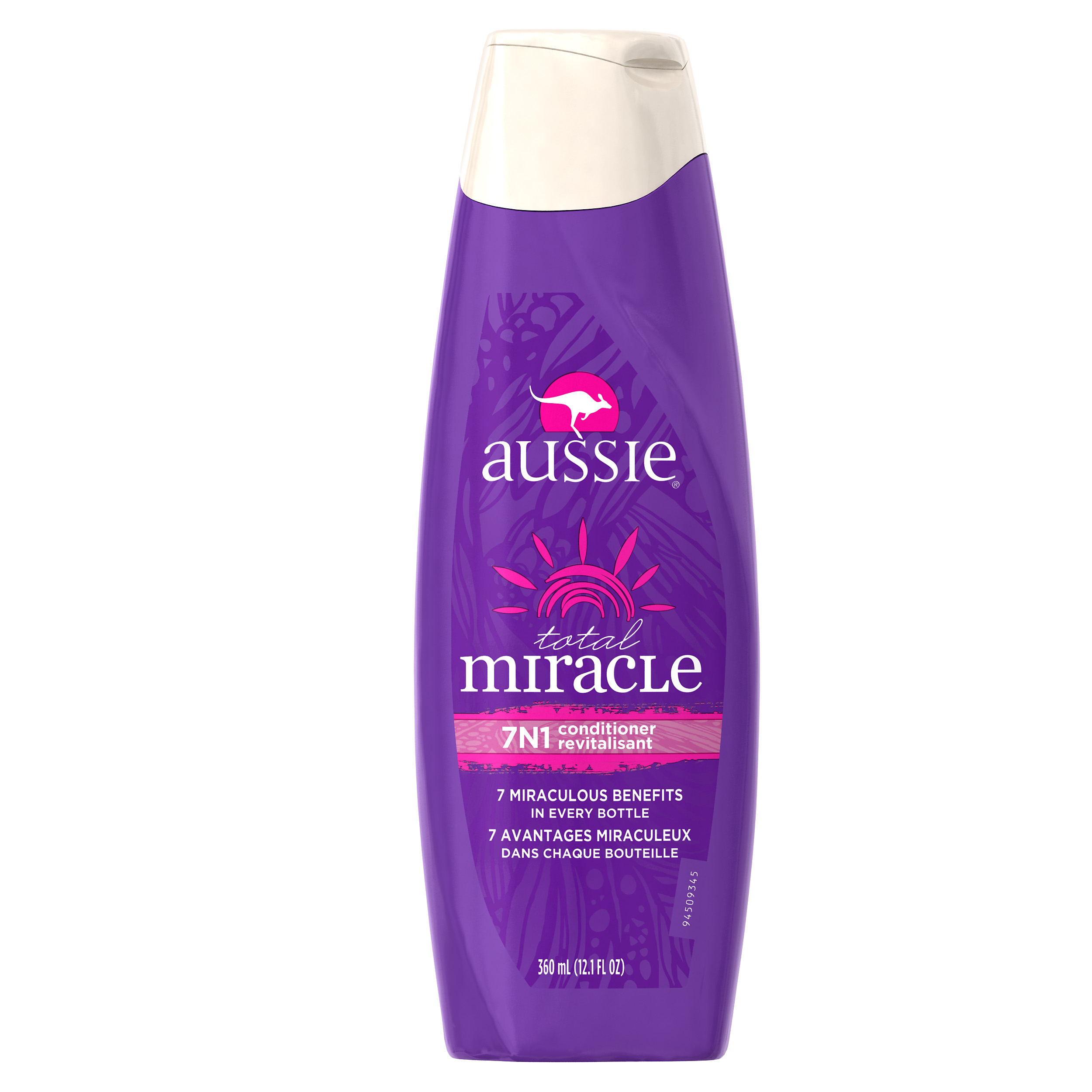Aussie Total Miracle Collection 7N1 Conditioner, 12.1 fl oz