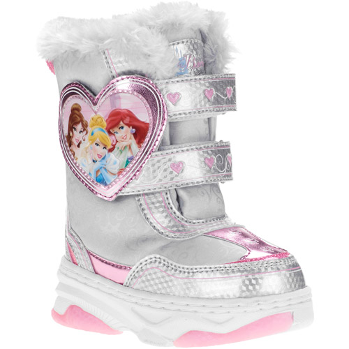 Disney Princess Toddler Girl's Winter Snow Boot