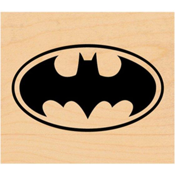 Dc Comic Rubber Stamp Batman Logo Walmart