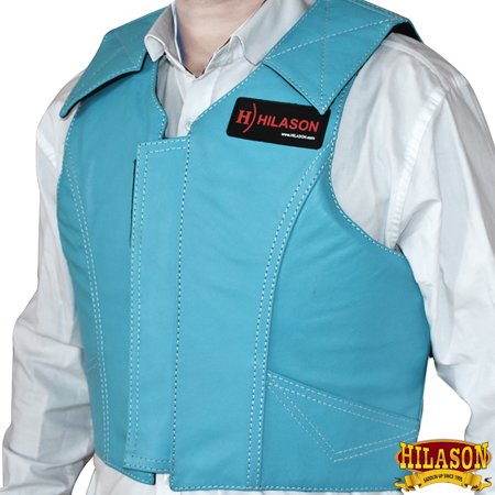 - Hilason Leather Bareback Pro Rodeo Horse Riding Protective Vest