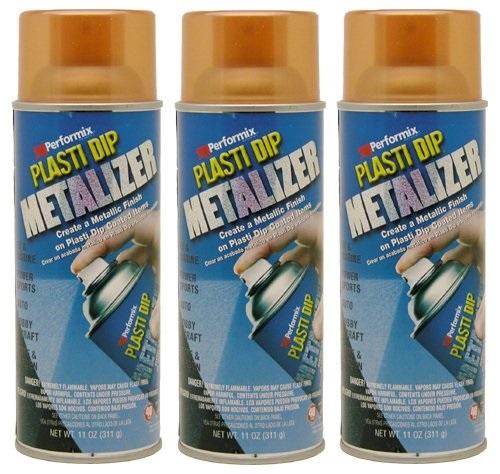 Performix Plasti Dip 11236 Copper Metalizer Rubber Spray 3 PACK