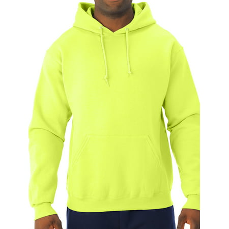Jerzees Men's Fleece Hoodie Sweatshirt (Orange Reebok Hoodie)