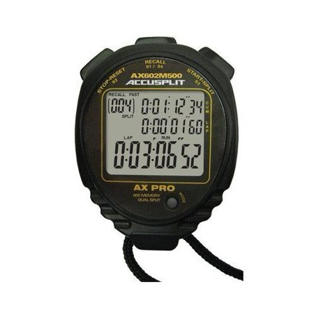Image of Accusplit Multi-Mode 500 Memory Advanced Timing Stopwatch