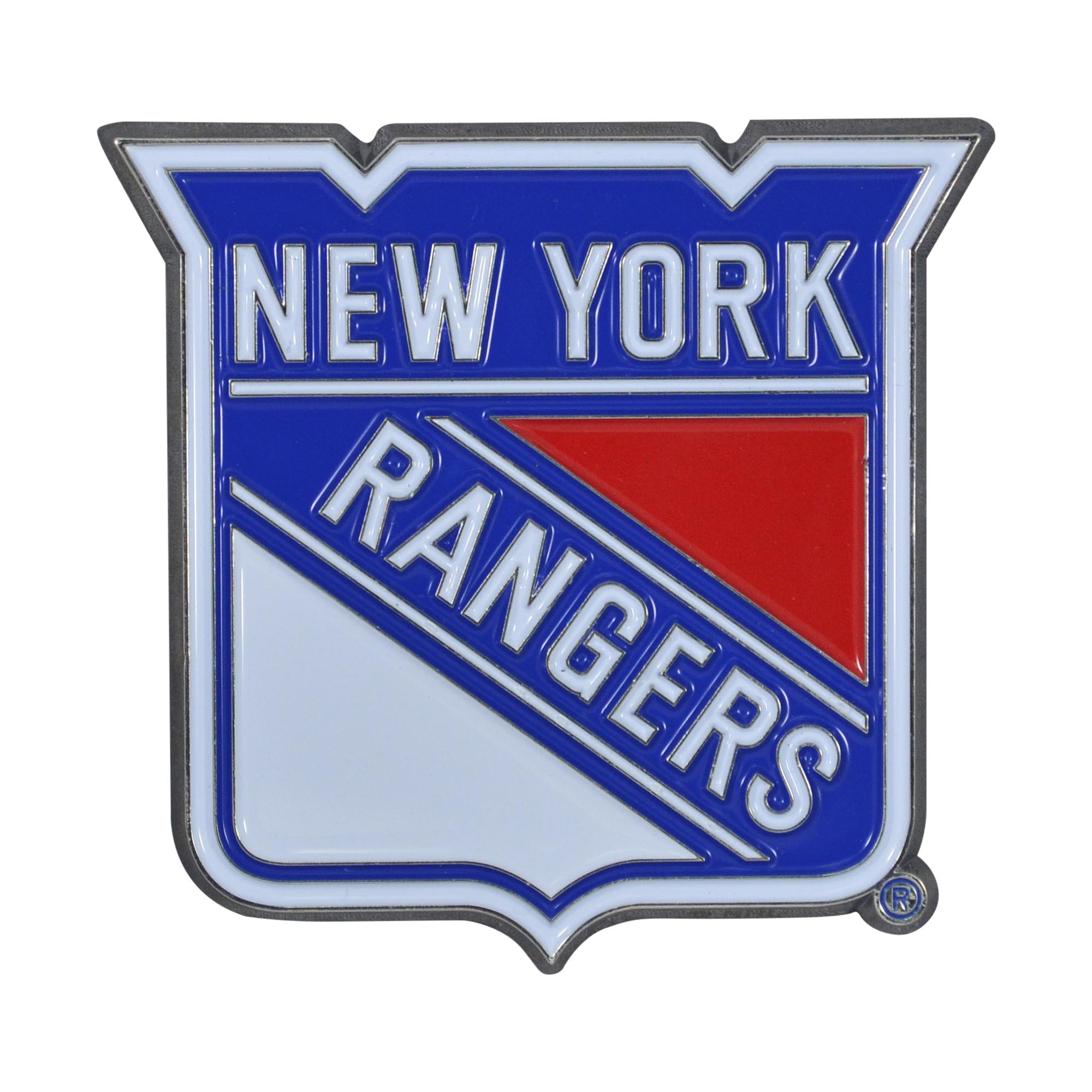 "New York Rangers Color Emblem 3""x3.2"""