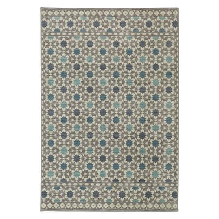Mohawk Porcelain Tile - Mohawk Home Cascade Heights Lattice Tiles Rug