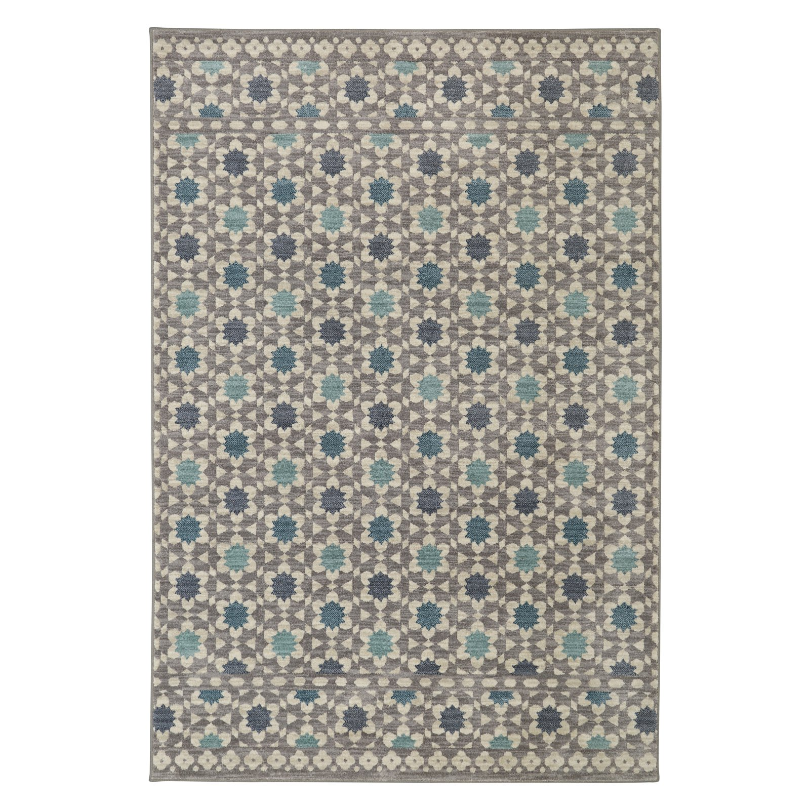 Mohawk Home Cascade Heights Lattice Tiles Rug