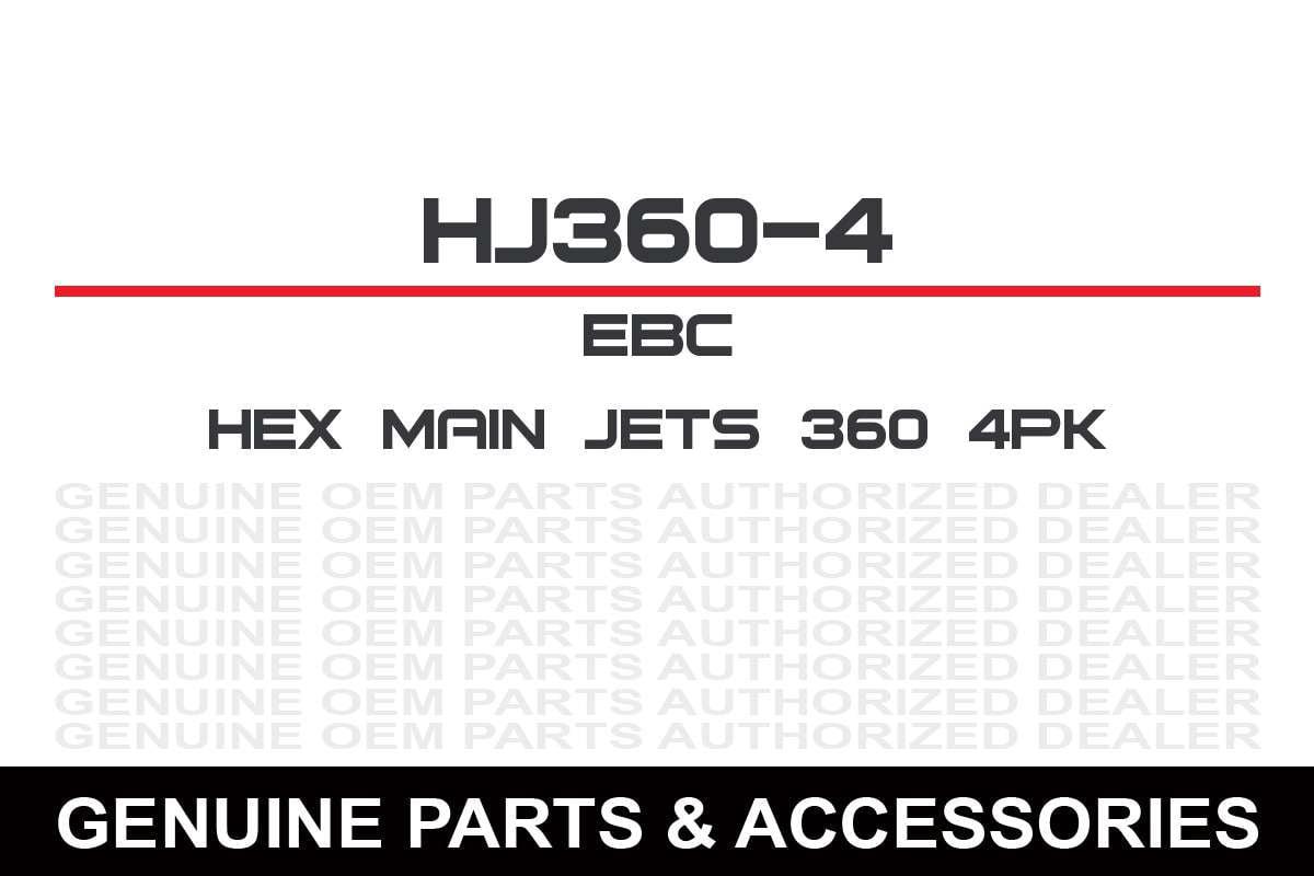MIKUNI HEX MAIN JETS 4//PK #360