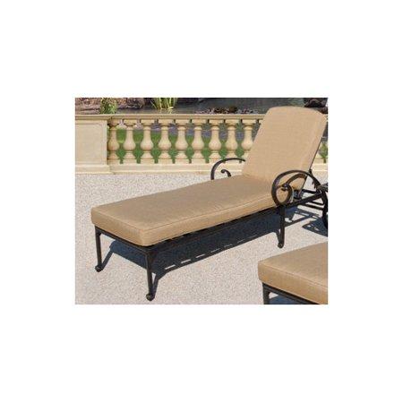 Art frame direct maravilla chaise lounge with cushions - Walmart lounge cushions ...