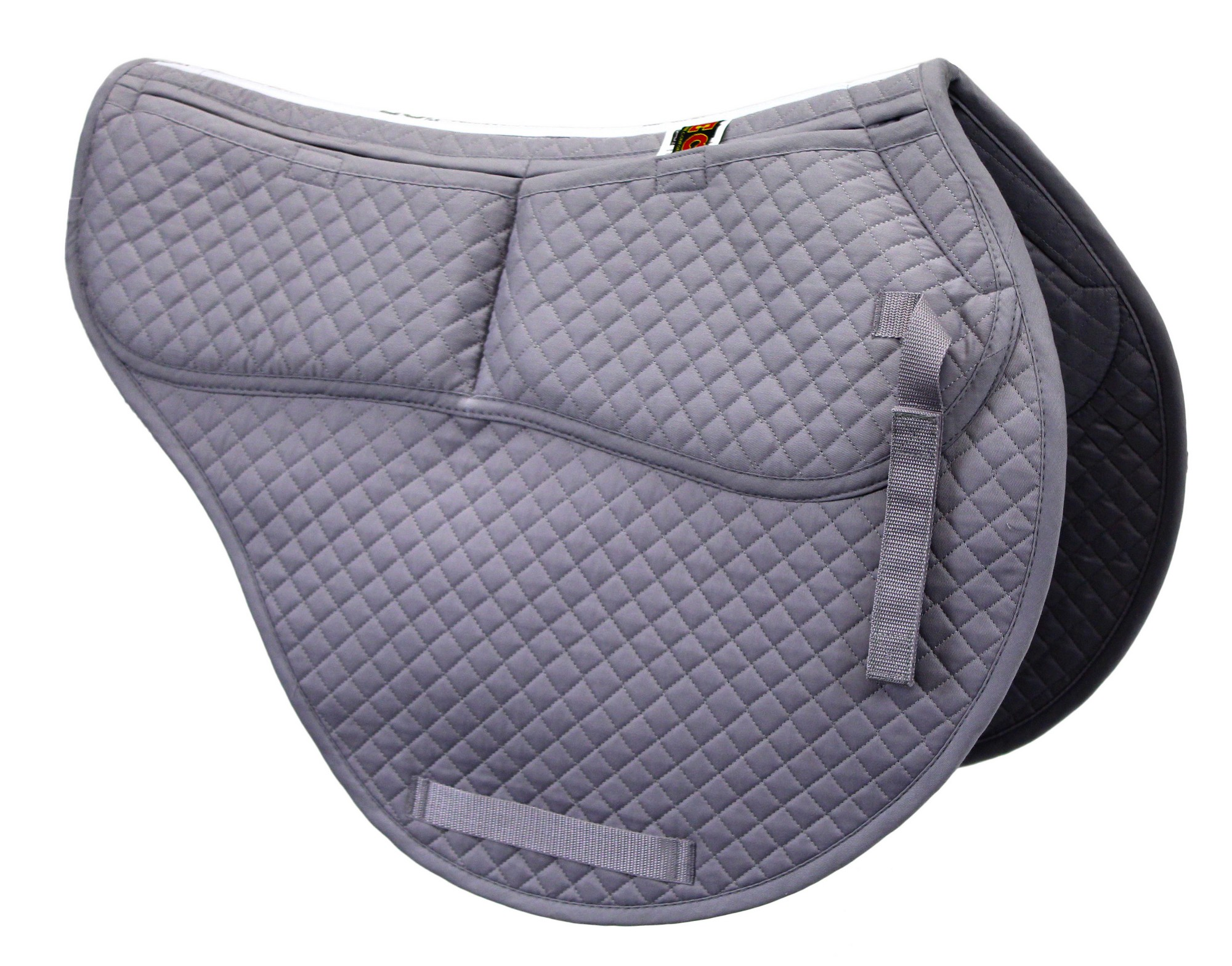ECP Cotton Correction All Purpose Contoured Saddle Pad Memory Foam Pockets