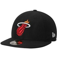 Miami Heat New Era Official Team Color Low Profile 59FIFTY Fitted Hat - Black