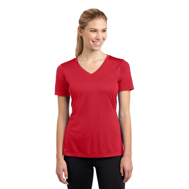 Sport Tek Sport Tek Women Lst353 Running Shirt V Neck Posicharge Competitor Tee Walmart Com Walmart Com A wide variety of sports tek shirts options are available to you, such as feature, technics, and material. walmart