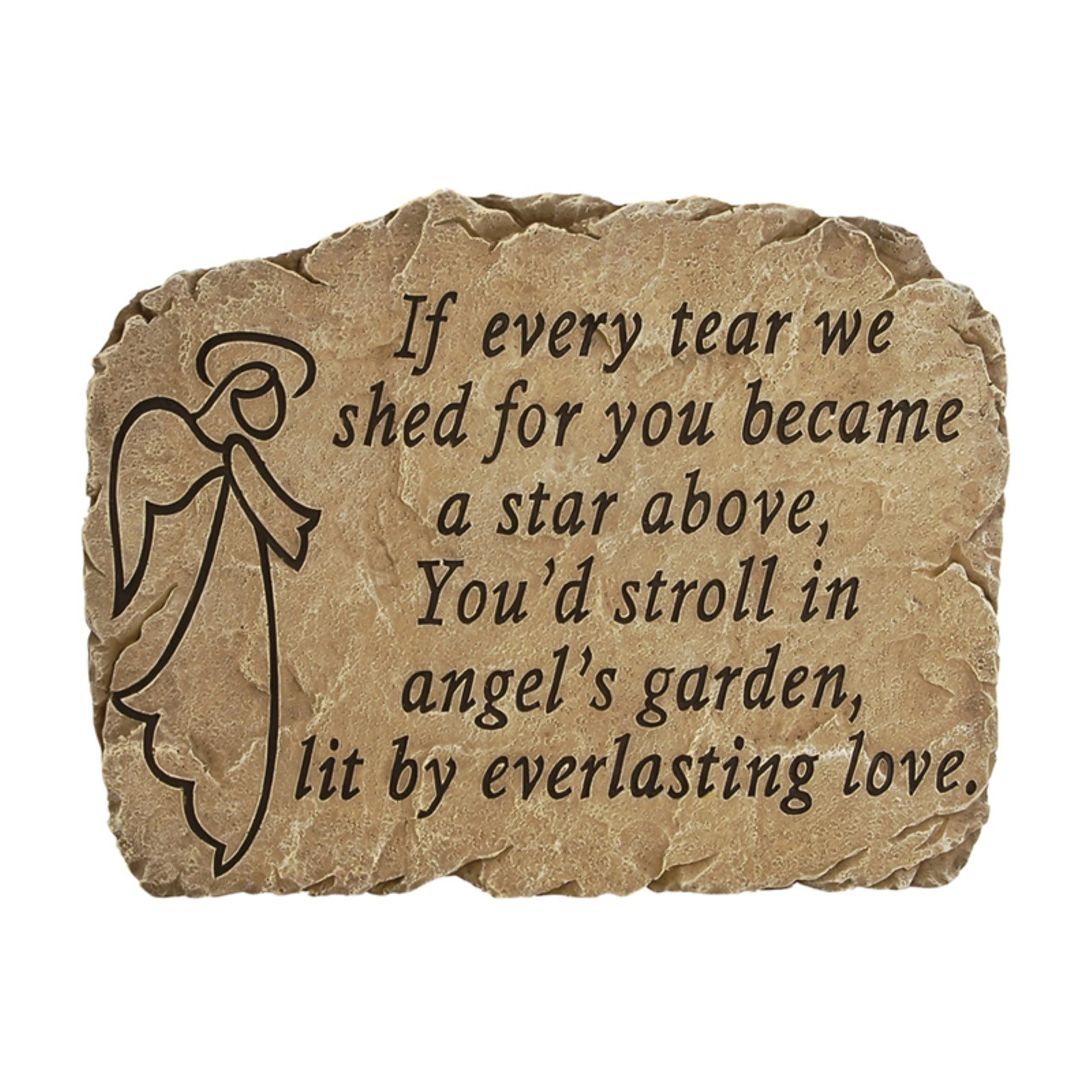 Carson Home Accents Angel's Garden Garden Stone by Garden Accents
