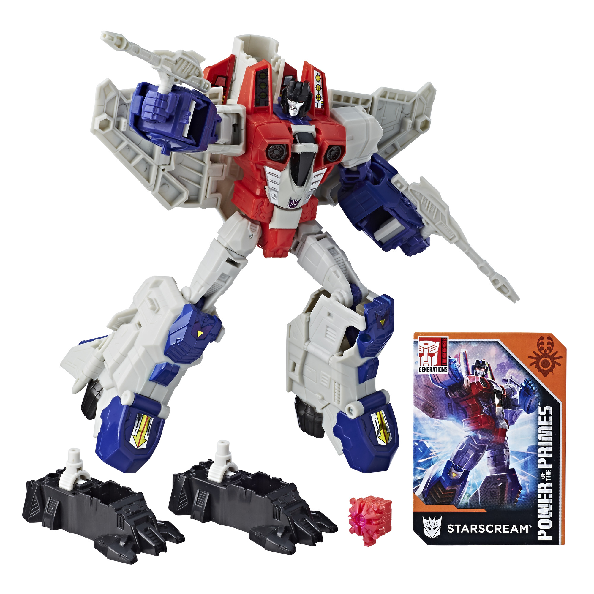 Transformers: Generations Power of the Primes Voyager Class Starscream by Hasbro, Inc