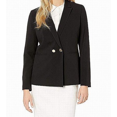 Womens Jacket Double-Breasted Single Button 2