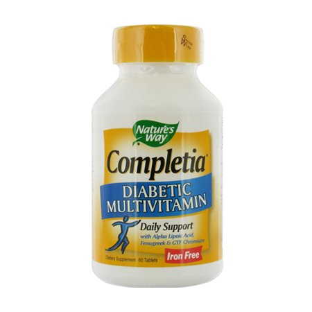 Naturesway Completia Diabetic Multivitamin Tablets - 60