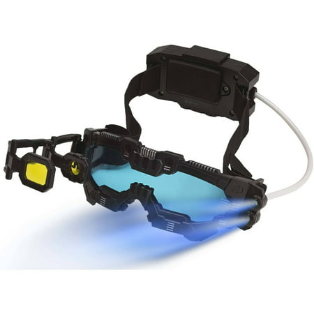 SpyX / Night Mission Goggles *2016 Top Fun Award Winner* Spy Toy - Goggles with Twin LED Light Beams,Flip Out Scope,Comfortable Headset and Battery Pack.Perfect addition for your spy gear collection!