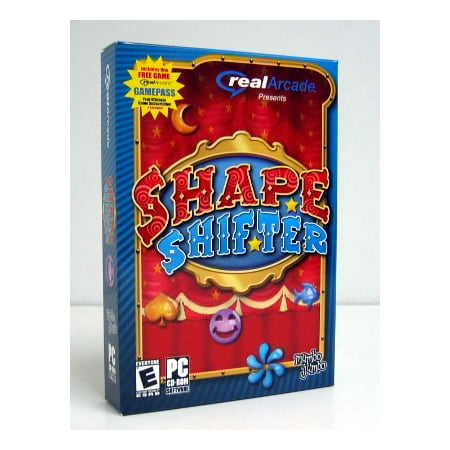 Real Arcade SHAPE SHIFTER Puzzle PC Game - Delightful Convergence of Action, Intrigue & Fun! (Puzzle Games For Computer)