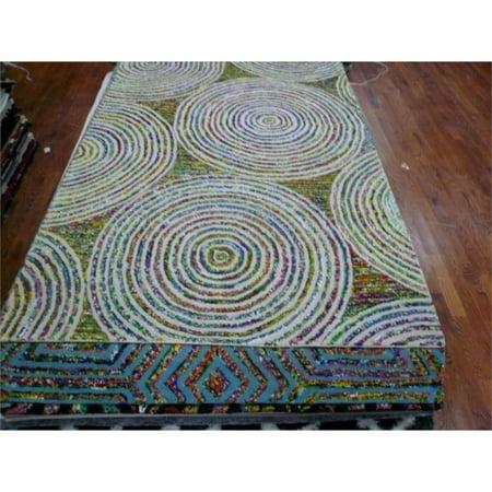 Safavieh Nantucket 9' X 12' Hand Tufted Cotton and Wool Rug in Beige - image 7 de 10