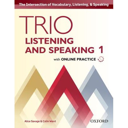 Student Pack (Trio Listening and Speaking Level One Student Book Pack with Online Practice )