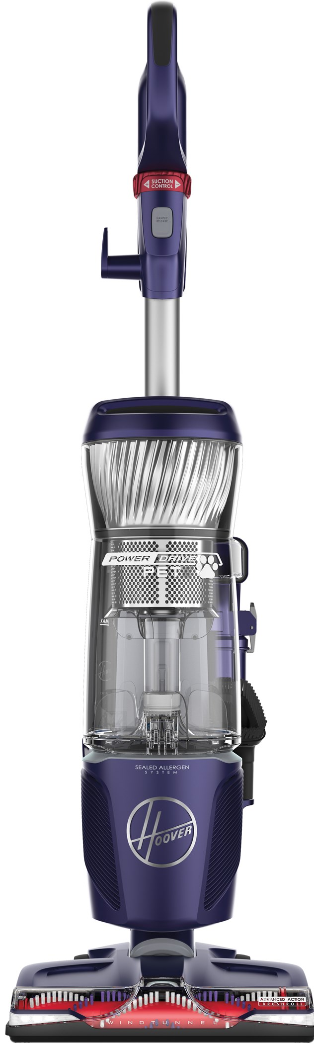 Hoover PowerDrive Pet Bagless Upright Vacuum Cleaner UH74210PC