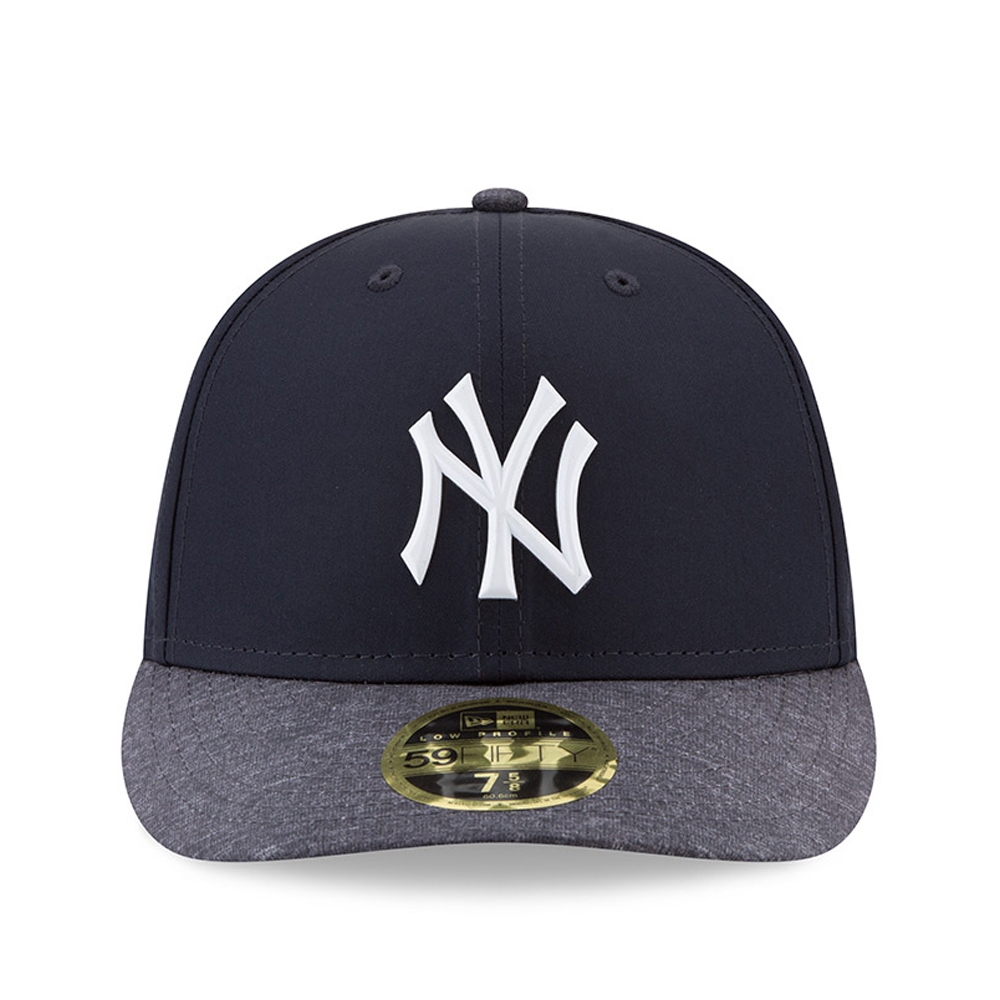 be507e0786582 New York Yankees New Era 2018 Spring Training Collection Prolight Low  Profile 59FIFTY Fitted Hat - Navy Gray - Walmart.com