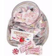 Candy-Scripture Strawberries & Cream Counter Jar