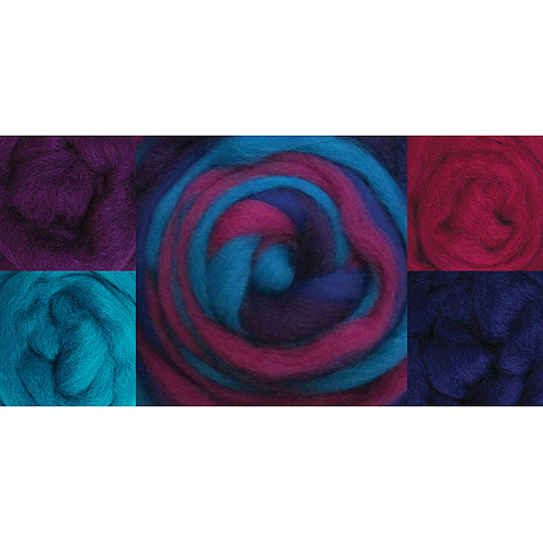 "Wool Roving 12"" 1.25oz-Jester"
