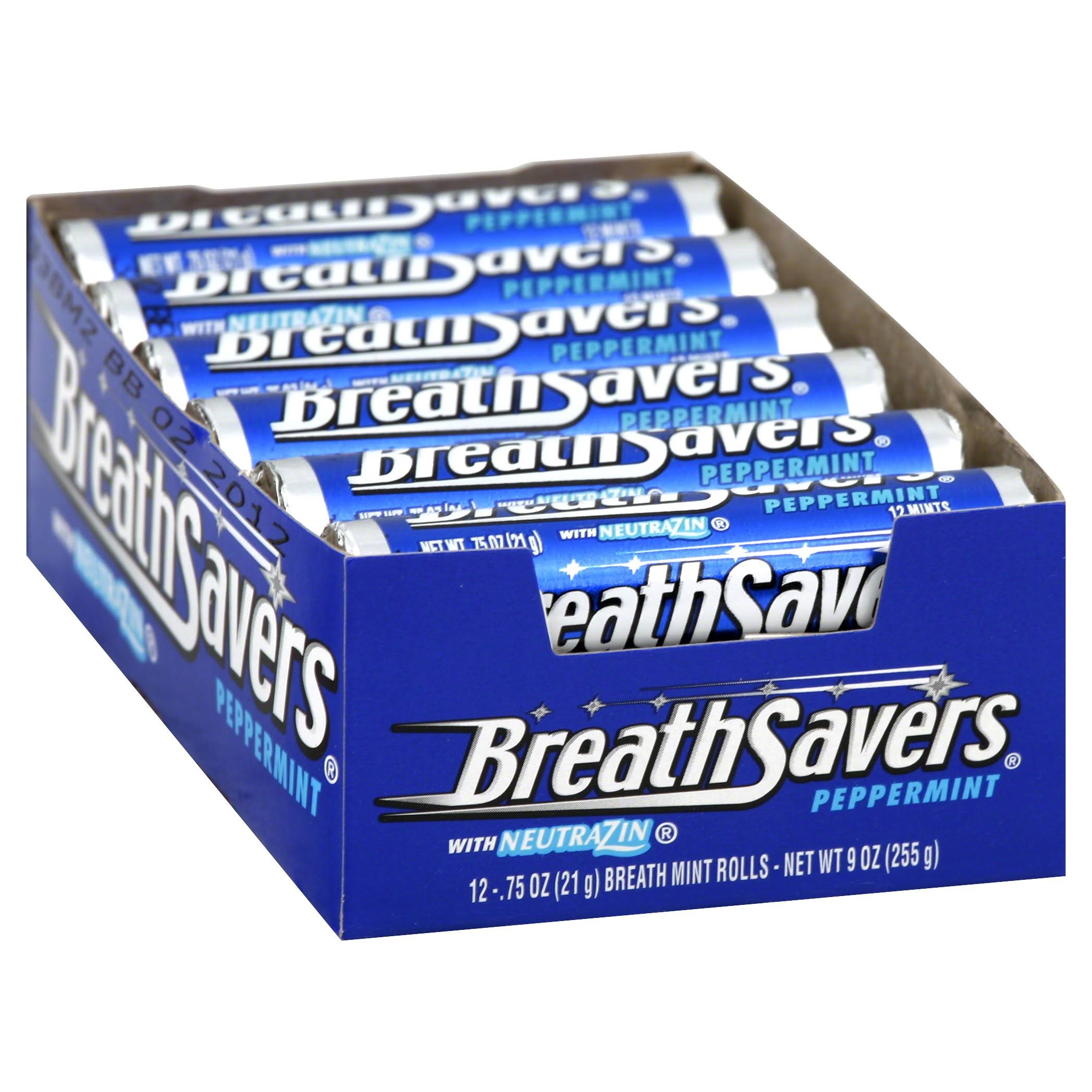 Breath Savers Mints, Peppermint by Hershey's