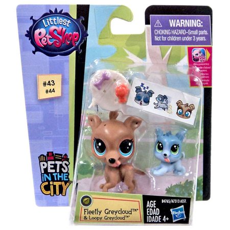 Littlest Pet Shop Pets in the City Fleetly & Loopy - City Pets